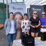 Well done to Verona Coulter and Tara Higgins runners up in grade 2 ladies doubles.