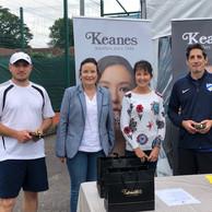Congratulations to Mark Khalifa and Slavic Stradnic winners of Grade 5 men's Doubles!
