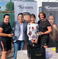 Well done Olive Kenneally and Veronica O'Keeffe, winners of grade 5 ladies doubles!