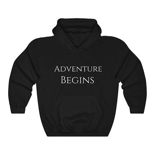 Adventure Begins Hooded Sweatshirt
