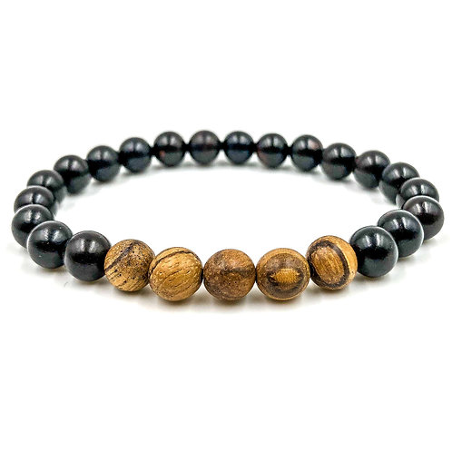 Light Sandalwood & Blackwood bracelet
