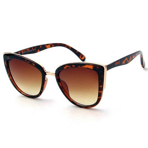 Women's Vintage Retro Oversized Cat Eye Sunglasses
