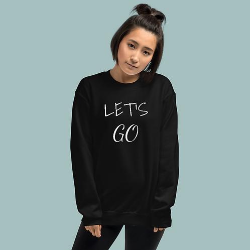 Let's Go Crew-neck Sweatshirt