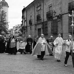 Ségovie, procession