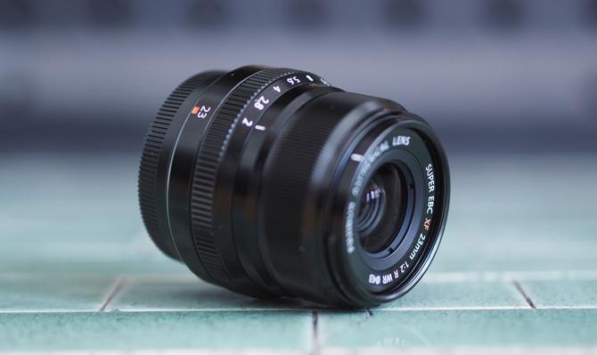 Acquisition d'un nouvel objectif, le Fuji série X 23mm f2