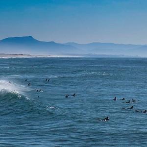 Ambiance surf à Capbreton (Landes)