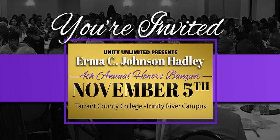4th Annual Erma C. Johnson Honors Banquet
