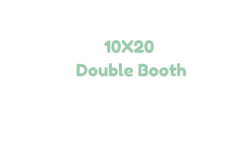 10x20 Double Booth Space