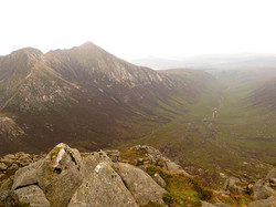 Goatfell and Glen Rosa from Cir Mhor summit - listing size