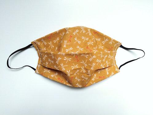 Dragonflies Cotton Face Mask, Reusable Filter Pocket Mask, Nose