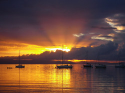 Sunrise - Brodick bay - listing size - 2