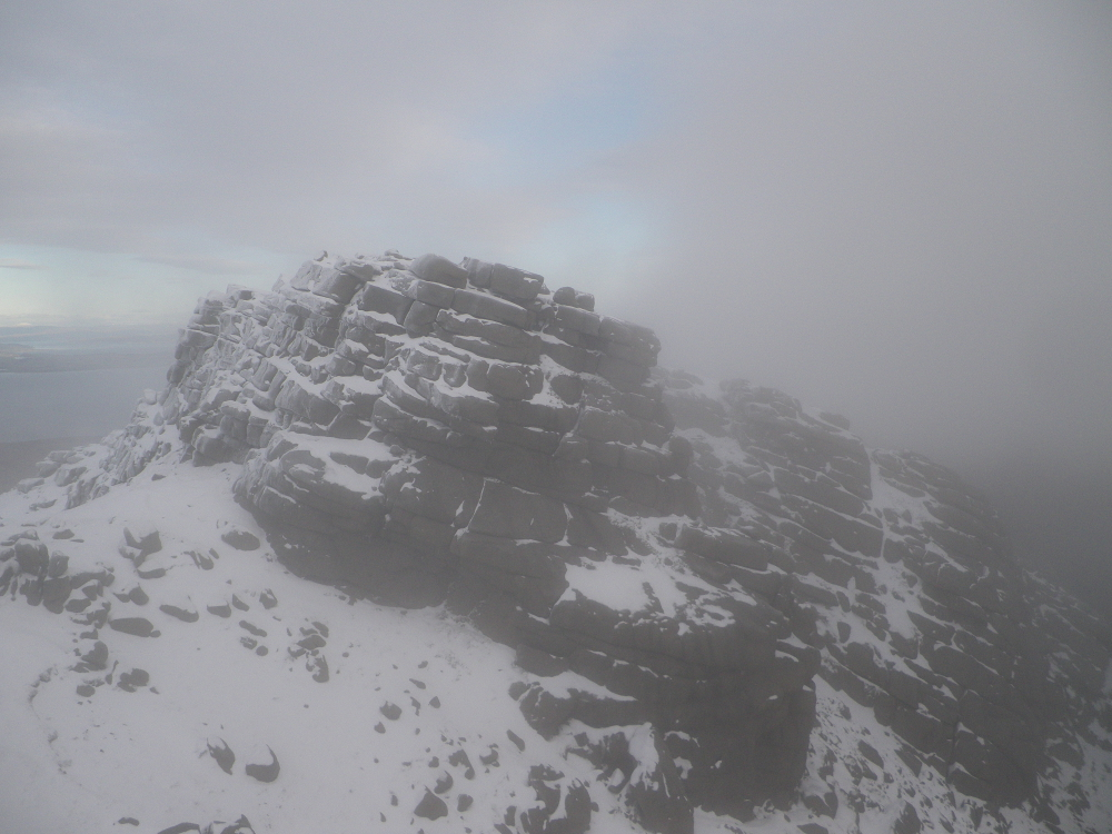 Arran - mountain - snow - listing size - 10