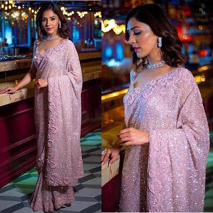 Sari Bollywood Indian Designer wedding saree for bridesmaids Designer sari India