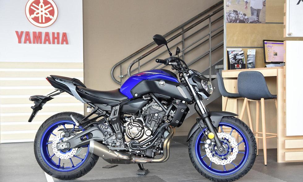 Yamaha MT-07 35 kw Icon Blue