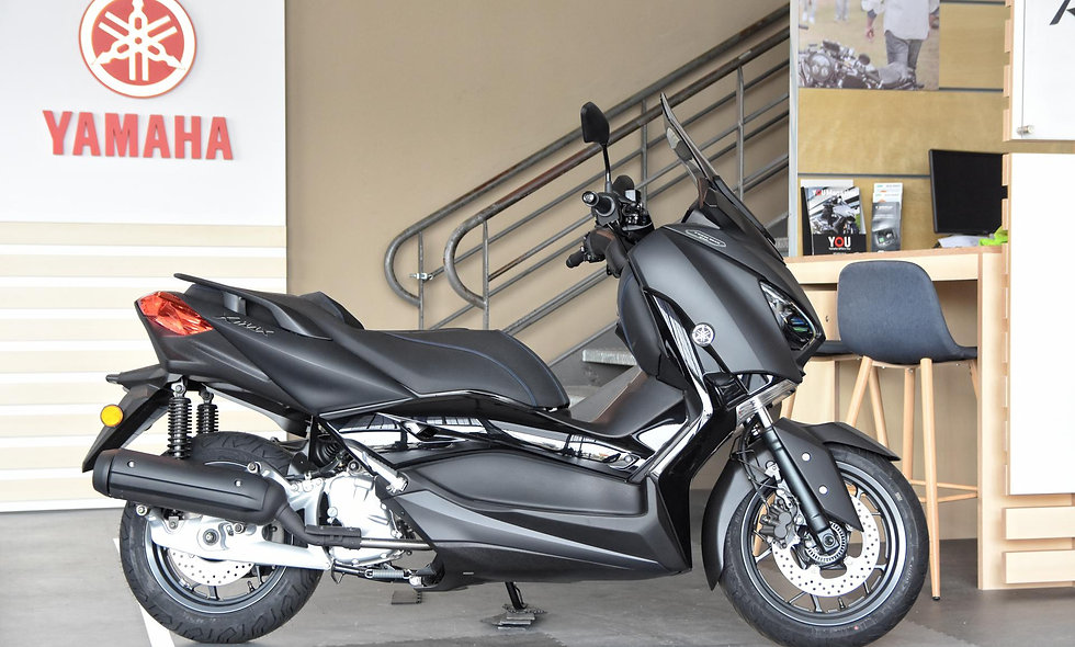 Yamaha 125 Tech MAX Power Black