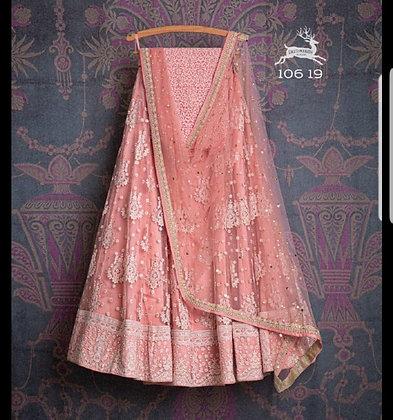 Designer party dress for women bridesmaids lehenga choli indian wedding party