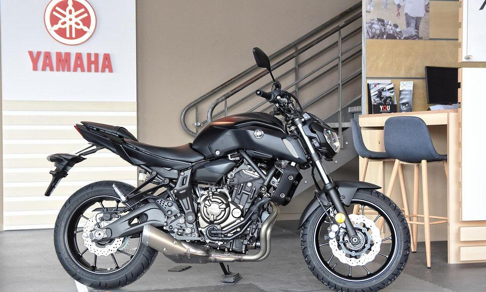 Yamaha MT-07 35 kw Tech Black