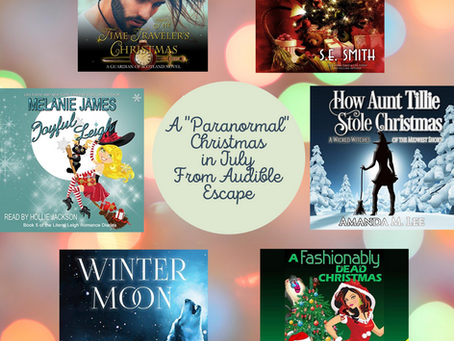 10 Paranormal Christmas Audiobooks in Audible Escape