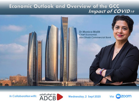 Quarterly Talk, 2 Sept: Economic Outlook & Overview of the GCC-Impact of COVID19