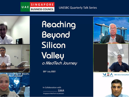 MedTech Experts Share Valuable Experience and Perspectives at UAESBC Quarterly Talk