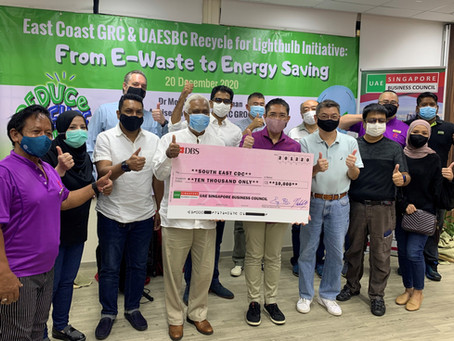 East Coast GRC & UAESBC Recycle for Lightbulb Initiative