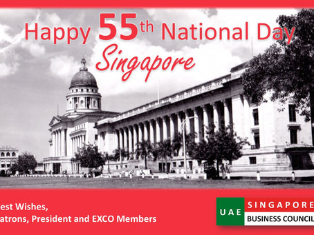 Happy National Day Singapore!