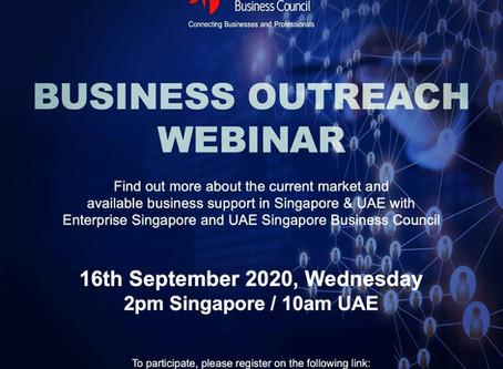 SBCUAE's Business Outreach, 16 Sept