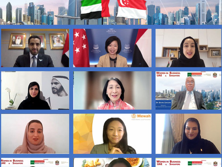 UAE and Singapore Women Leaders Shine and Inspire, 15 Sept