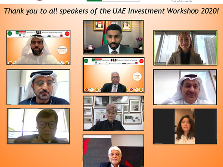 UAE Investment Workshop 2020 - Insightful End to the Year for F&B Businesses
