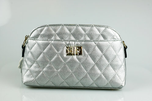 Metallic Silver  Purse
