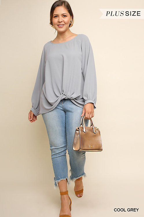 Pretty Basic Plus Size Top