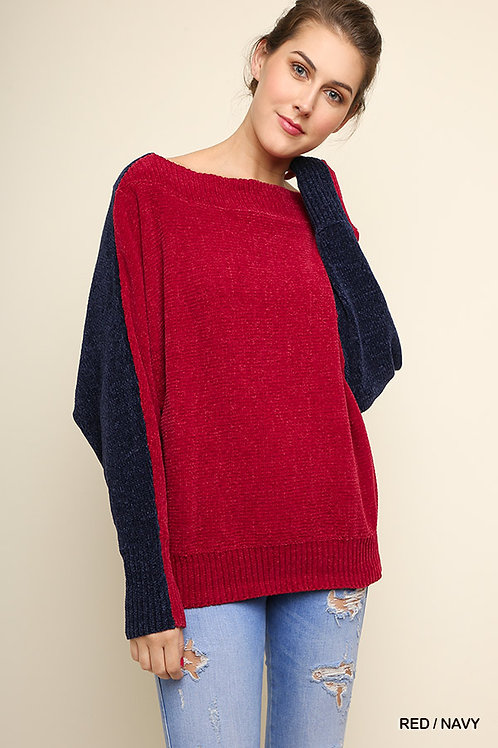 Not Your Basic Off The Shoulder Long Dolman Sleeve Top
