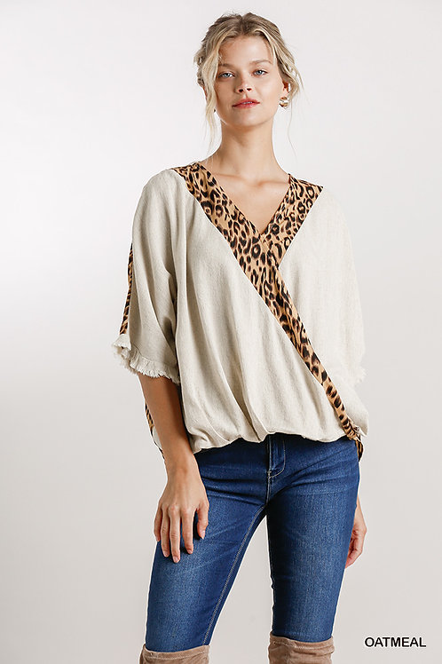 Out In The Wild High Low Hem Top