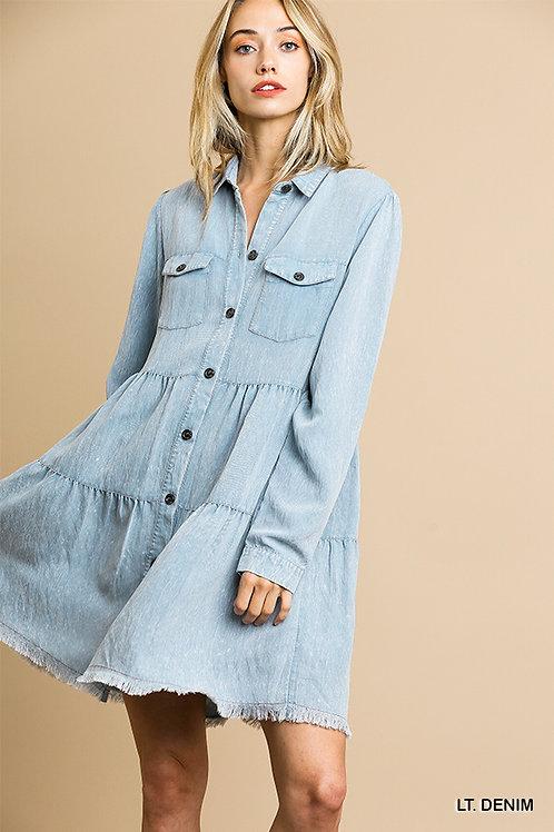 Garment Dye Dress