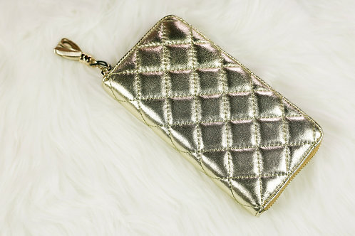 Metallic Gold Wallet