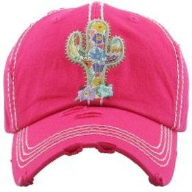 Cactus Baseball Cap