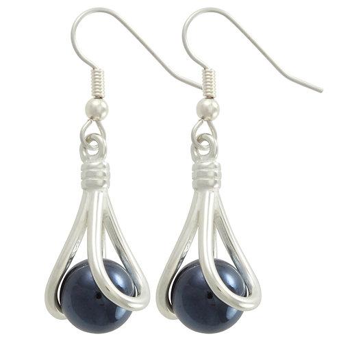 Sterling Silver Athena Interchangeable Earrings