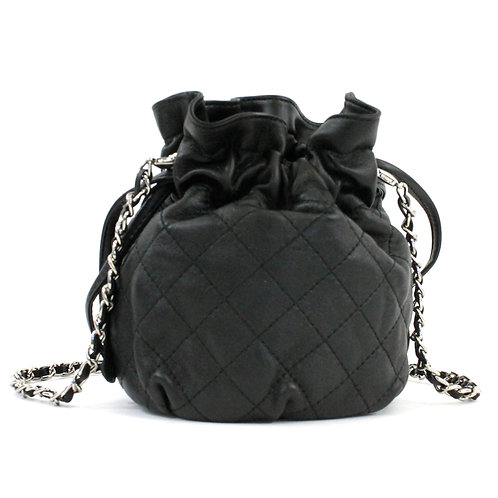 Drawstring Bag 100% Leather
