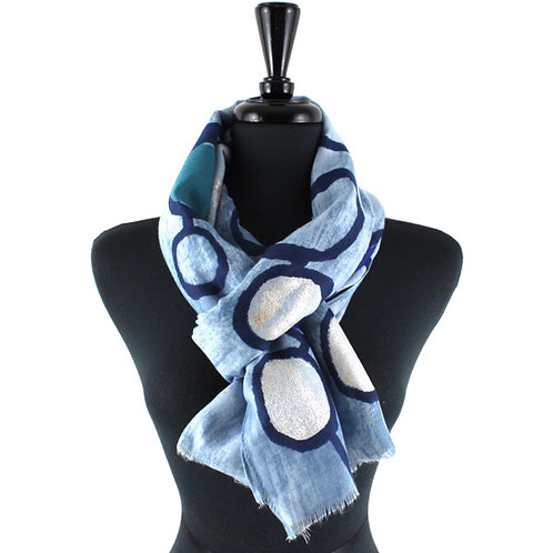 Bubble Pop Print Scarf