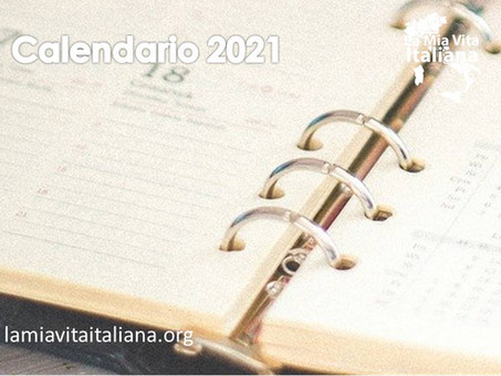 Calendari 2021 - quest'anno ne abbiamo 2 - scaricali online