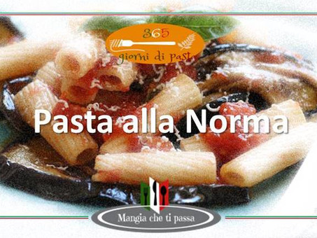 Un piatto Siciliano - Pasta alla Norma - Ricetta - 365 giorni di pasta