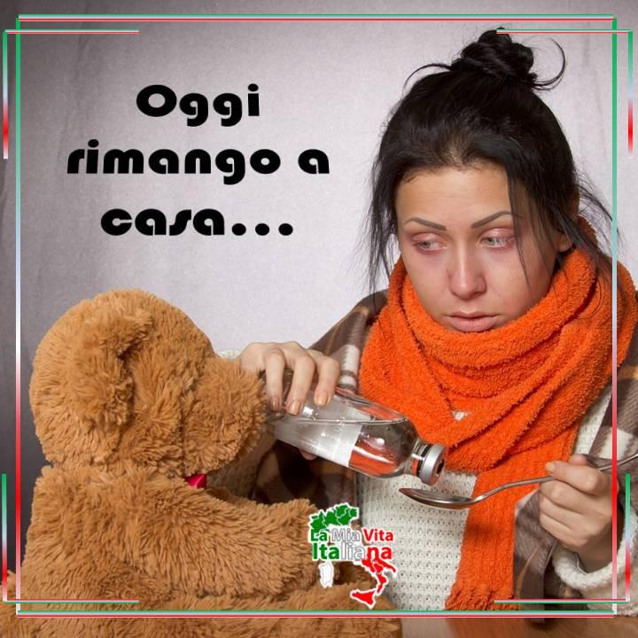 Ausencia por enfermedad - En Italia existe la obligación de permanecer en casa.