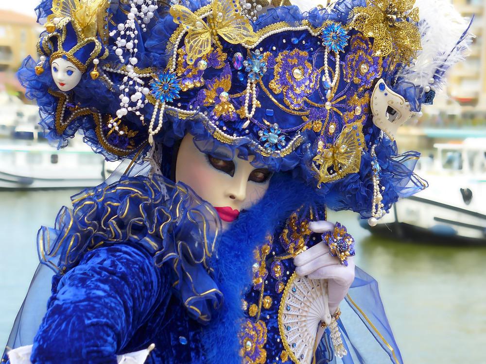 Máscaras y disfraces de Venecia