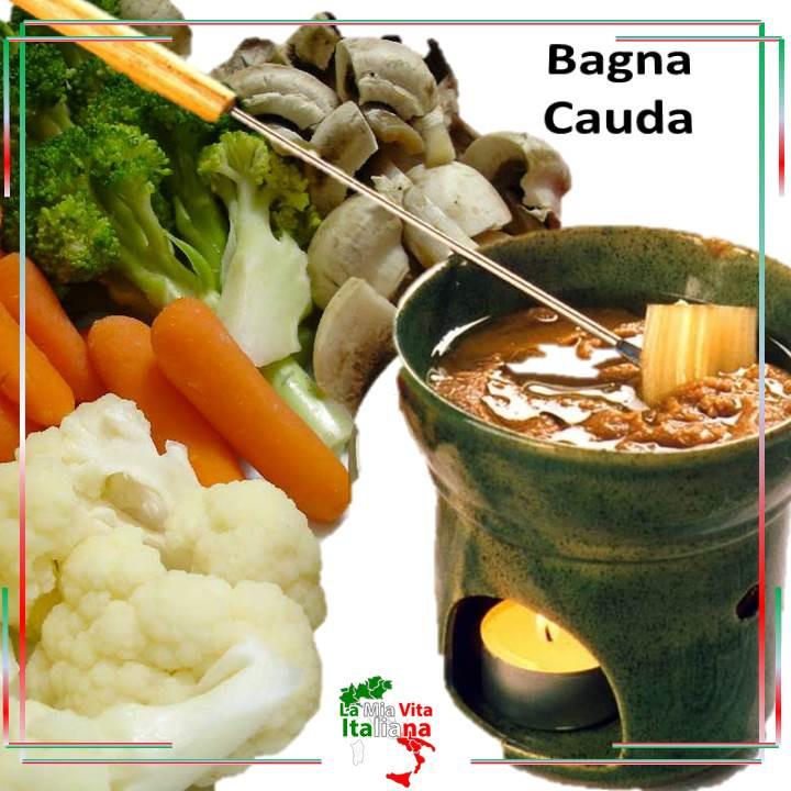 Bagna Cauda  - típico plato del Piemonte