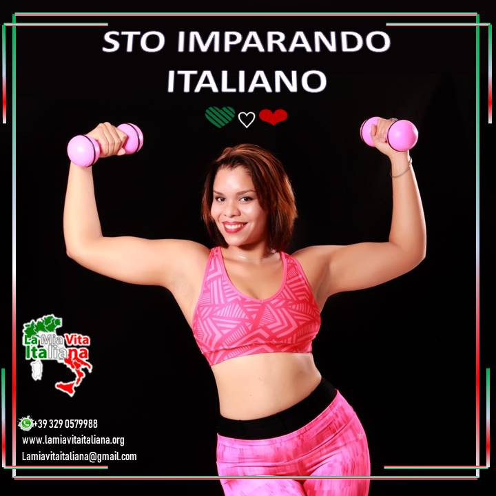Aprende Italiano mientras te entrenas
