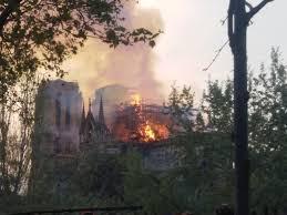 """Italia se propone en primera línea para la reconstrucción de la catedral de """"Notre Dame""""."""
