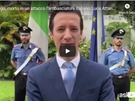 Attentato in Congo: uccisi l'ambasciatore italiano e altri due uomini