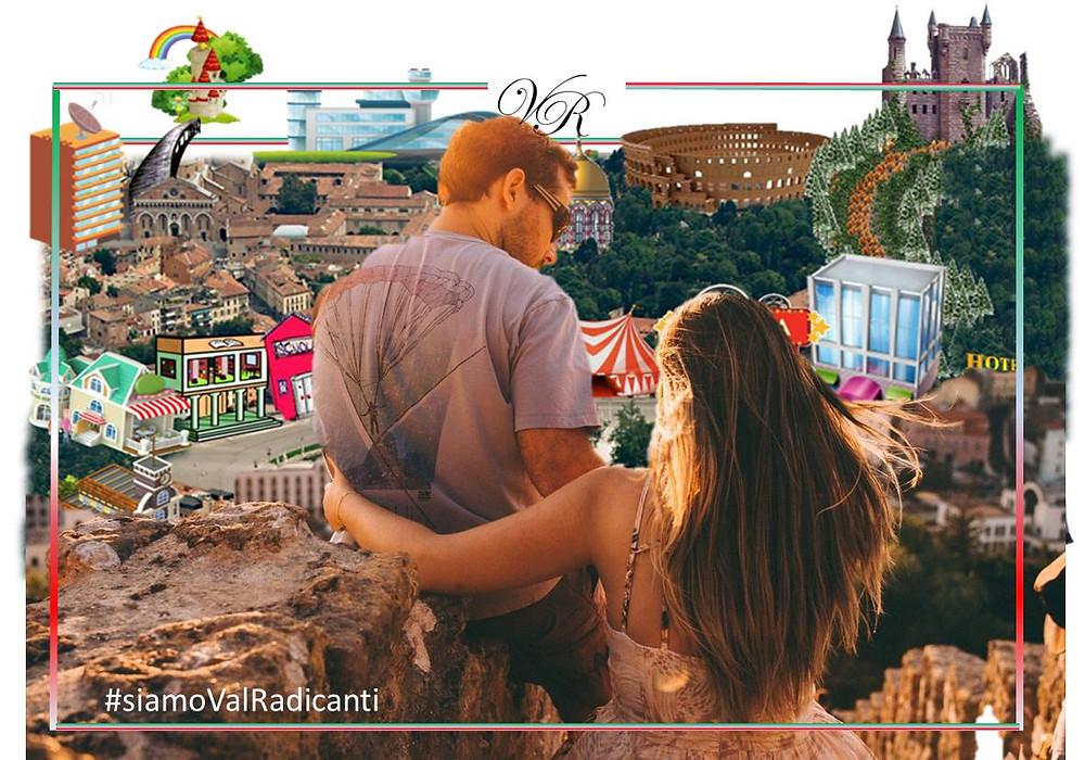 Valle delle Radici è la città per chi ha voglia di conoscere l'Italia e riconnettersi con le sue radici dovunque si trovi.