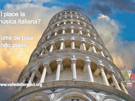 Ti piace la musica italiana? Sali al secondo piano della Torre di Pisa.