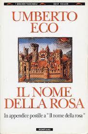il nome della rosa - literat italiano - libro de lectura aconsejado en italiano